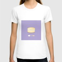 macaroon T-shirts featuring Tea time by Henry Chang