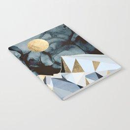 Midnight Peaks Notebook