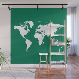 Emerald Elegant World Wall Mural