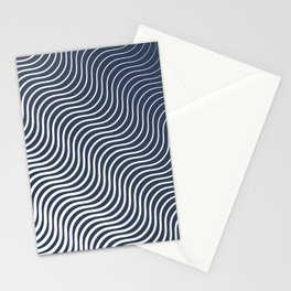Whiskers Navy #583 Stationery Cards