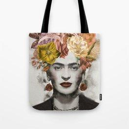 FRIDA FLOWERS Tote Bag