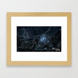 Shrine of Storms Framed Art Print