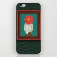 the perks of being a wallflower iPhone & iPod Skins featuring Wallflower by Lindsay Beach