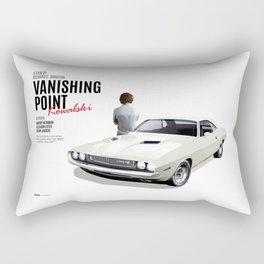 Vanishing Point Rectangular Pillow