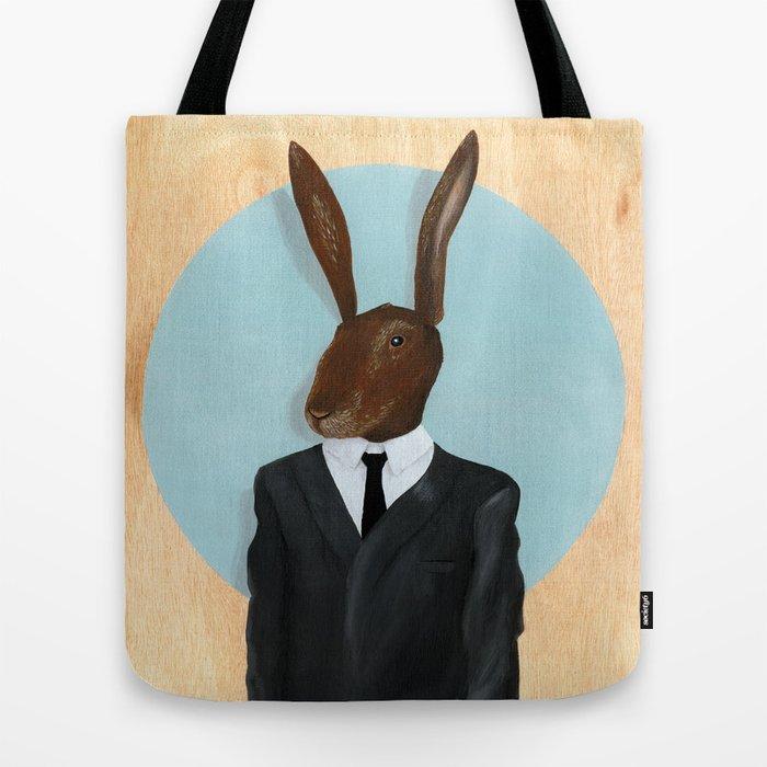 David Lynch   Rabbit Tote Bag