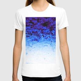 Indigo Blue Crystal Ombre T-shirt