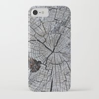 tree rings iPhone & iPod Cases featuring Rings by Elizabeth Velasquez