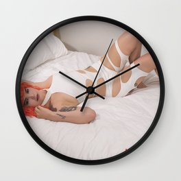 Sexy Leeloo Wall Clock