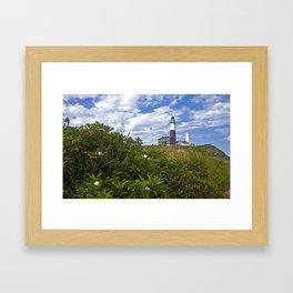 Montauk Point Lighthouse Framed Art Print