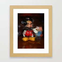 Welcome to the Majick Kingdom of Purloined Childhood Framed Art Print
