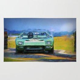 Ford GT40 Targa Florio Roadster Rug