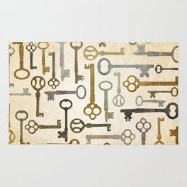Vintage Keys Rug