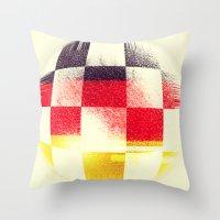 german Throw Pillows featuring German Soccer by Bunhugger Design