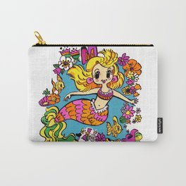 Summer Party Mermaid Carry-All Pouch