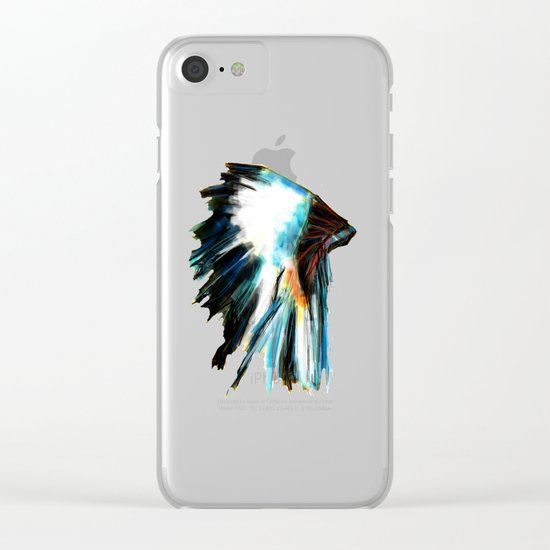Headdress Clear iPhone Case