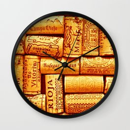 Every Which Way Rioja Wall Clock