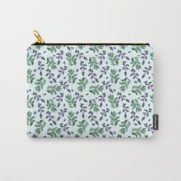 Watercolor hand drawn graphics. Carry-All Pouch