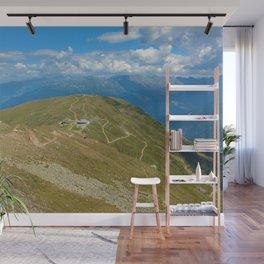 fisser yoke alps panorama serfaus fiss ladis tyrol austria europe Wall Mural