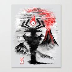 Eye of the Shadow Canvas Print