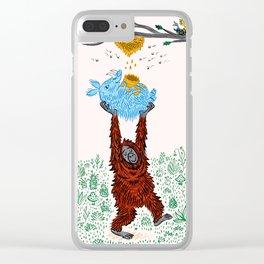 Wild Honey Clear iPhone Case