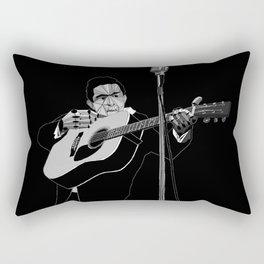 Johnny Bitcoin Live! Rectangular Pillow