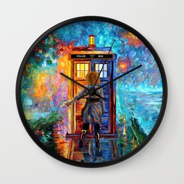 BeautifuL Blondie Lost in the strange city iPhone, ipod, ipad, pillow case and tshirt Wall Clock