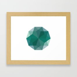 Shapes 011 Framed Art Print