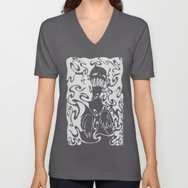 Boogeyman for Dark shirts? Unisex V-Neck