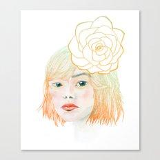 Hairy Fleabane Canvas Print