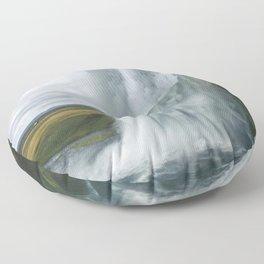 Raining Water Floor Pillow