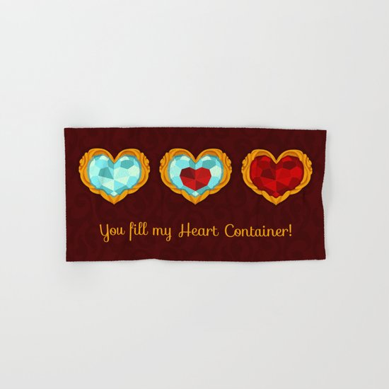HEART CONTAINER Hand & Bath Towel
