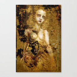 book of sorrows Canvas Print