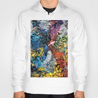 xmen Hoodies featuring The XMen by MelissaMoffatCollage