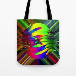 Einstein's Rainbow Tote Bag