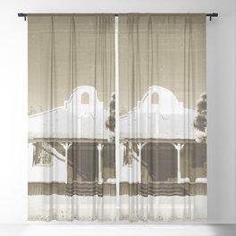 Kill Bill Church Quentin Tarantino Sheer Curtain