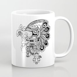 Mayan Warrior Coffee Mug