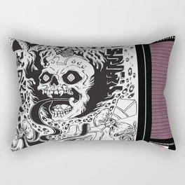 grimes - visions cover art - Rectangular Pillow