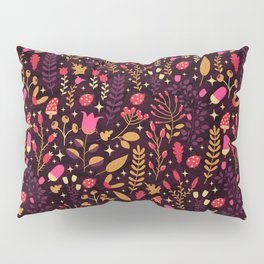 Autumn Flowers Pillow Sham