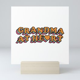Grandma at Heart Mini Art Print