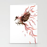 freedom Stationery Cards featuring freedom by Steven Toang