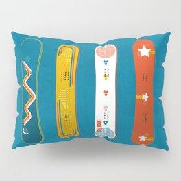 SNOWBOARD DESIGN Pillow Sham