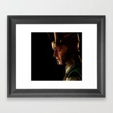 The King Framed Art Print