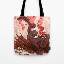 Dragonslayer II Tote Bag