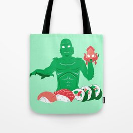 Sushi from the Black Lagoon Tote Bag