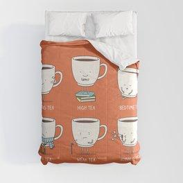 Types of tea Comforters