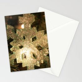 Sparkling Snowflake Stationery Cards