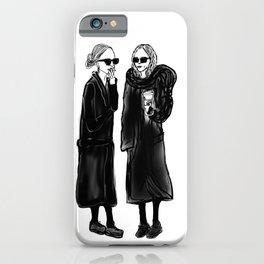 mary-kate n ashley 4 eva iPhone Case