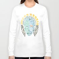 africa Long Sleeve T-shirts featuring Africa by Filip Postolache