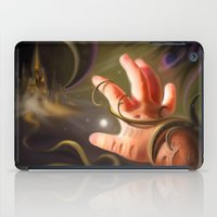 castle in the sky iPad Cases featuring Castle In The Sky by Brandon Heffron