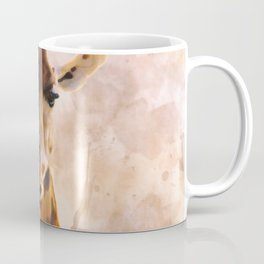 Watercolor Giraffe Coffee Mug